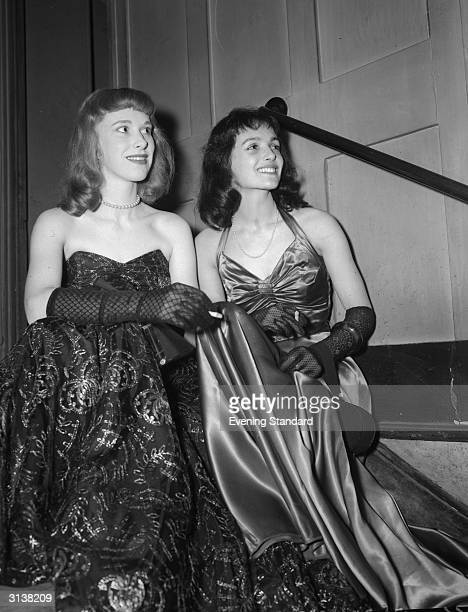 English actress Wendy Craig and Gillian Francis