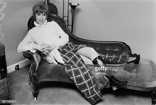 English actress Wendy Craig at home UK 29th April 1971