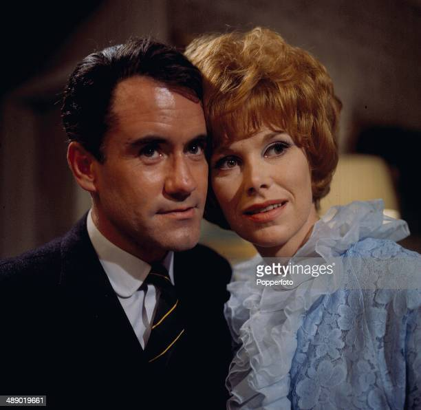 English actress Wendy Craig pictured with Scottish actor Ian Bannen in a scene from the television drama 'the Floating Population' in 1967