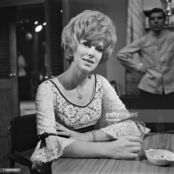 English actress Wendy Craig plays the role of Marjorie Padfield in a scene from the ABC Weekend Television drama series Armchair Theatre 'The...