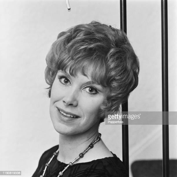 English actress Wendy Craig posed in May 1967