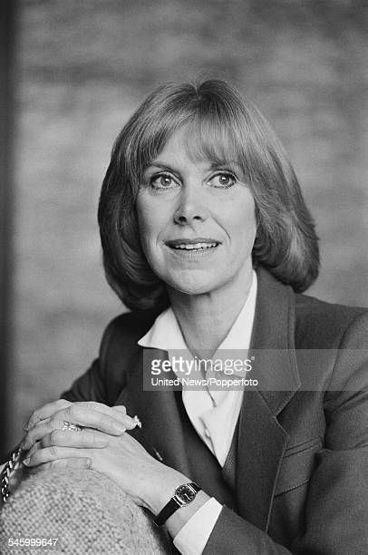 English actress Wendy Craig who appears in the television sitcom 'Butterflies' pictured in London on 30th December 1982