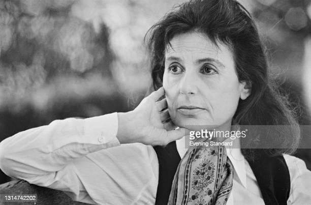 English actress Yvonne Mitchell , UK, 14th June 1974.