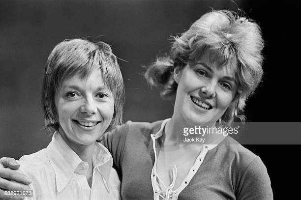 English actresses Anna Massey and Lynn Redgrave during a judo lesson UK 12th May 1971