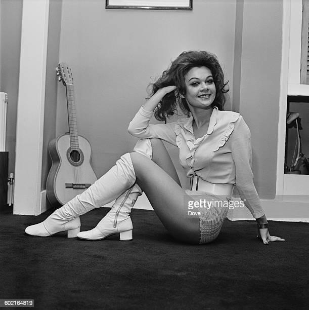 English actressl Imogen Hassall UK 15th January 1971