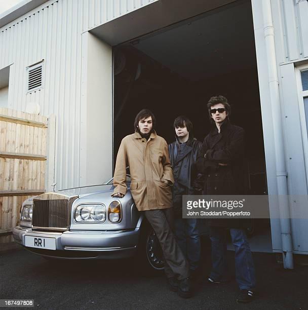 English alternative rock band Supergrass , circa 2002.