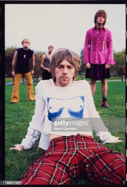 English alternative rock group Mansun 1997 they are Dominic Chad Paul Draper Stove King and Andie Rathbone