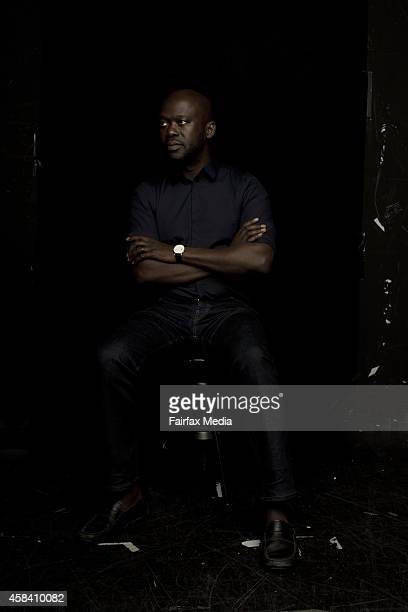 English architect David Adjaye OBE is photographed in Sydney May 14 2014 Adjaye is director of the acclaimed architectural firm Adjaye Associates in...