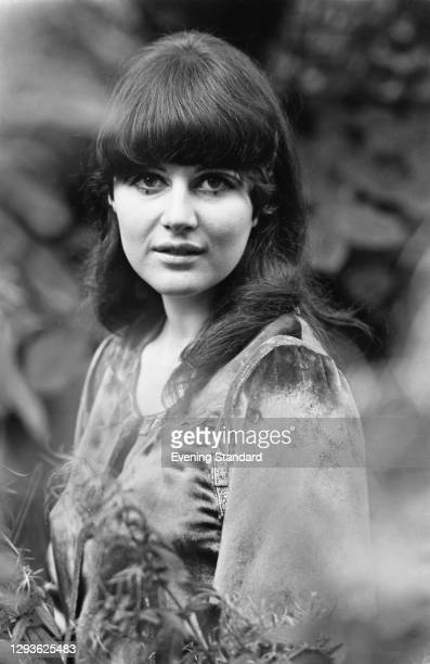 English artist, activist and journalist Caroline Coon, UK, 28th September 1967.