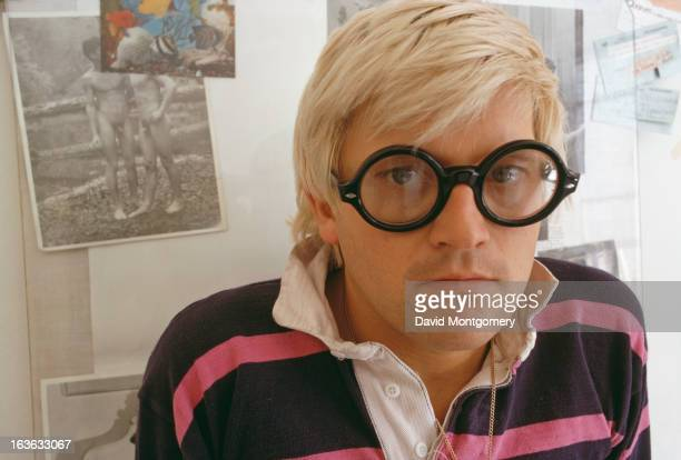 English artist David Hockney 25th August 1969