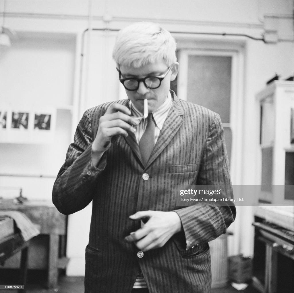 Hockney At Alecto : News Photo