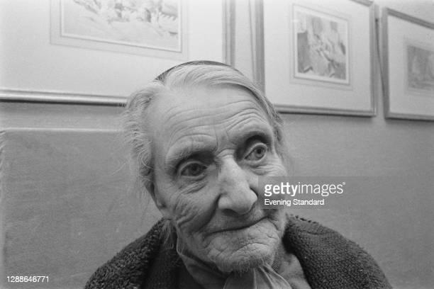 English artist Edna Clarke Hall , UK, 1971.