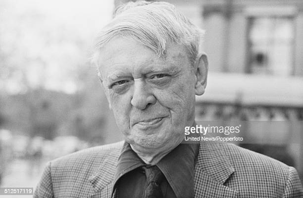 English author Anthony Burgess posed in London on 9th May 1986