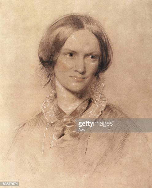 Charlotte Bronte englsih writer drawing by George Richmond