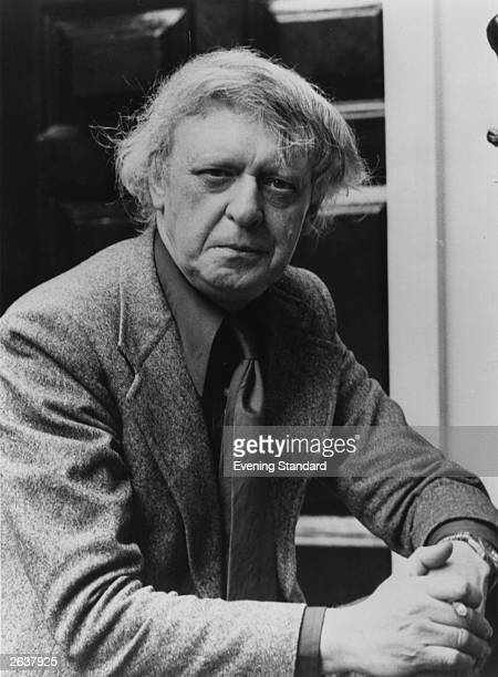 English author critic and composer Anthony Burgess