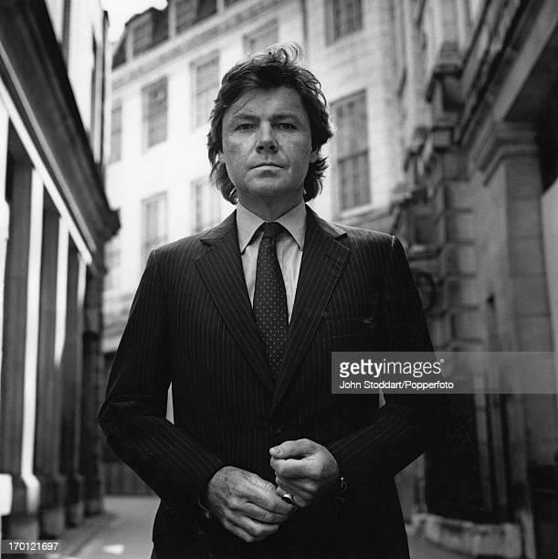 English author historian and Conservative MP Rupert Allason in London circa 1990