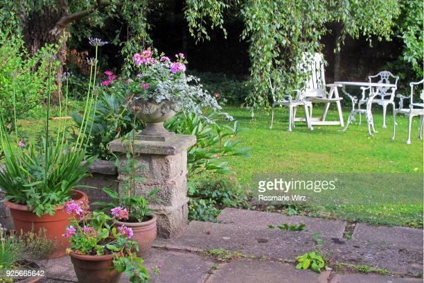 English back garden