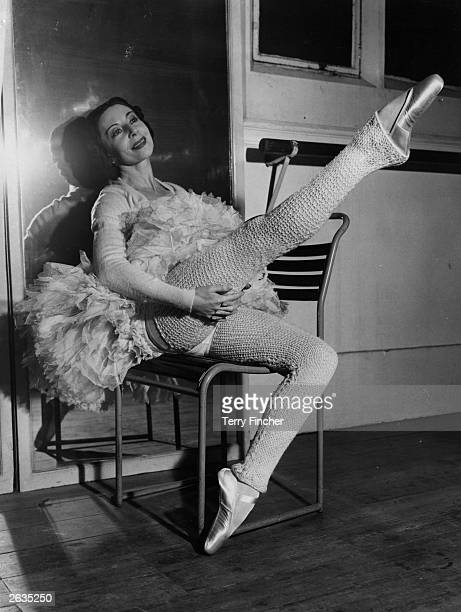 English ballerina Alicia Markova in preparation for her role as Pavlova in a special television performance. Original Publication: People Disc -...