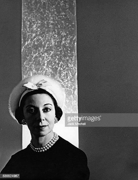 English ballerina and choreographer Alicia Markova photographed in 1958.