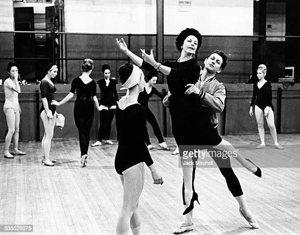 English ballerina and choreographer Alicia Markova photographed in 1963.