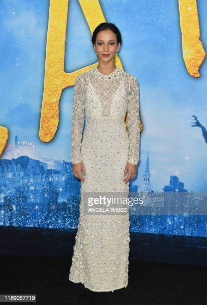 English ballerina Francesca Hayward arrives for the world premiere of Cats at the Alice Tully Hall in New York City on December 16 2019