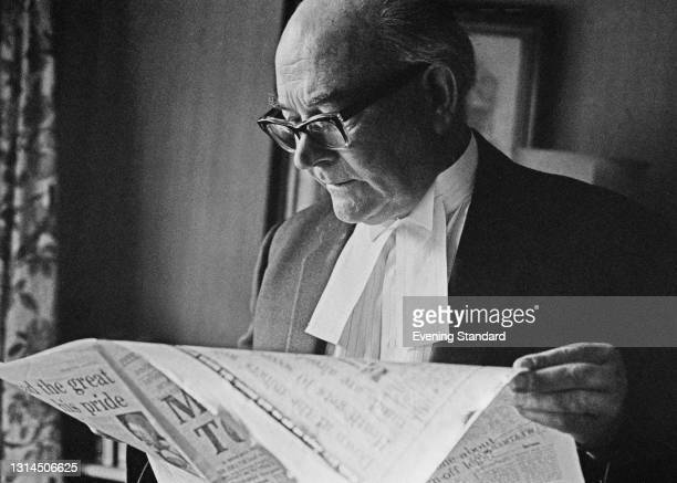 English barrister and High Court judge Neville Faulks , UK, 29th January 1974.