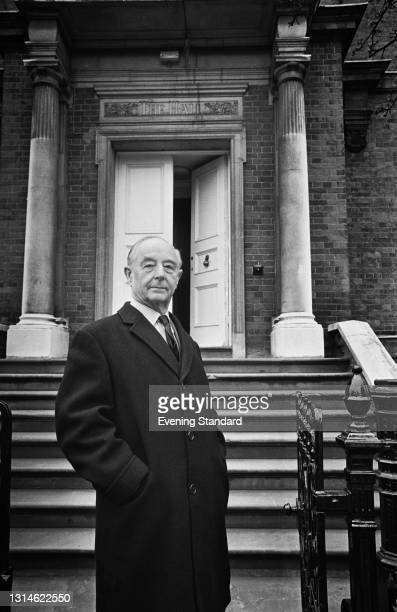 English barrister Edward Robey , UK, 30th March 1974. He is the son of music hall comedian George Robey.