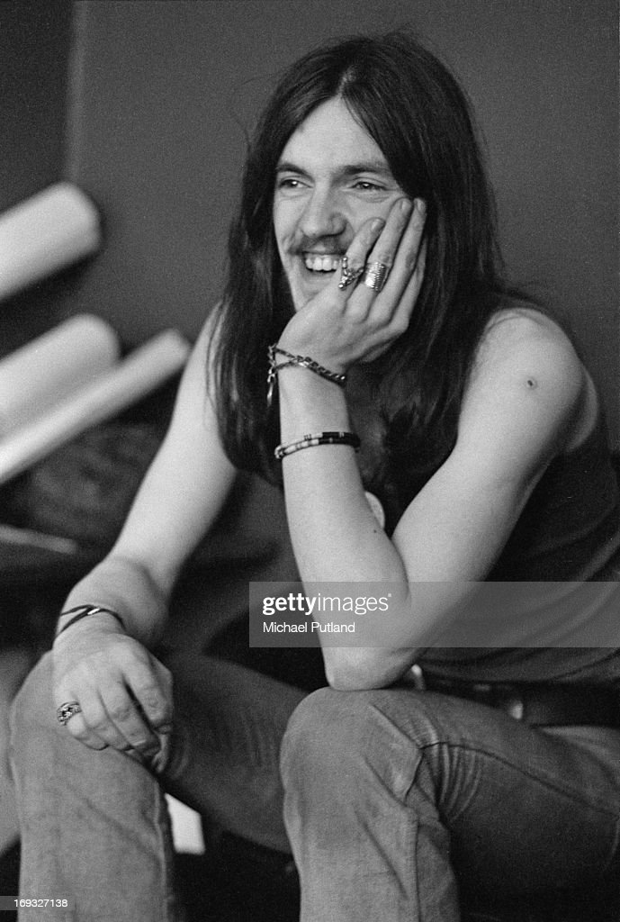 English bassist and singer Ian 'Lemmy' Kilmister, of space rock group Hawkwind, 17th May 1973.
