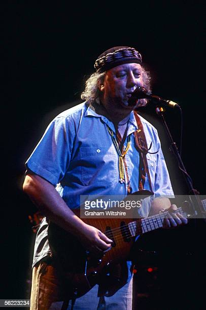 English blues guitarist and former member of Fleetwood Mac, Peter Green performing at the Apollo, Oxford, May 2000.