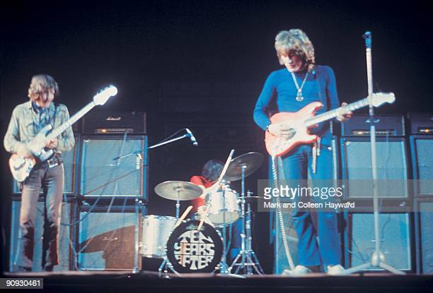 English blues rock band Ten Years After live at the Royal Albert Hall in London during the Pop Proms 1969 The show features guitar player Alvin Lee