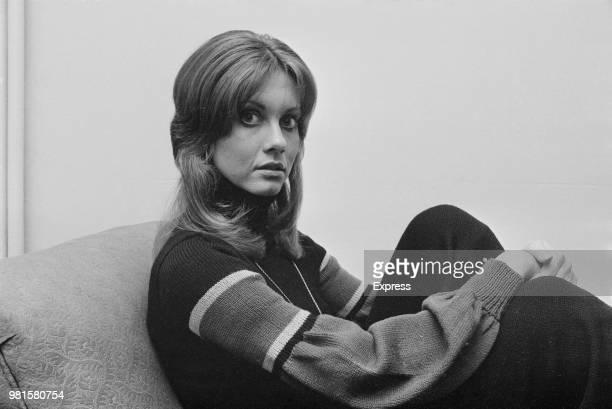 English born Australian singer Olivia NewtonJohn posed on 12th April 1972