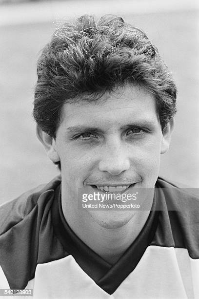 English born professional footballer and defender for Fulham FC Tony Gale pictured on 11th August 1982