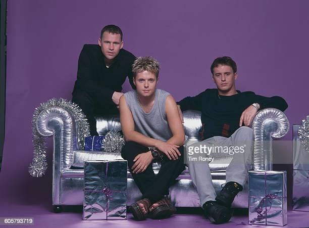 English boy band 911 circa 1997