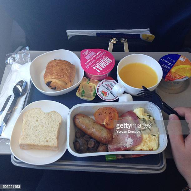English Breakfast on a plane
