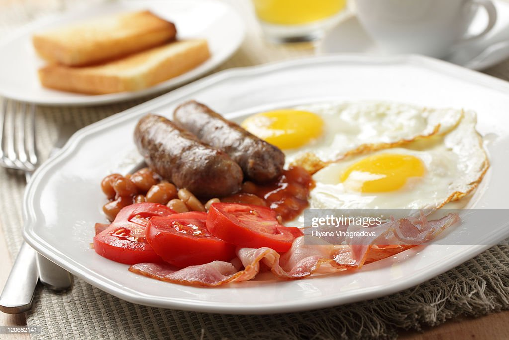 English breakfast : Stock Photo