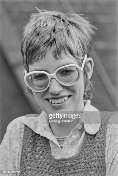 English broadcaster and journalist Janet Street-Porter, UK, 8th May 1971.