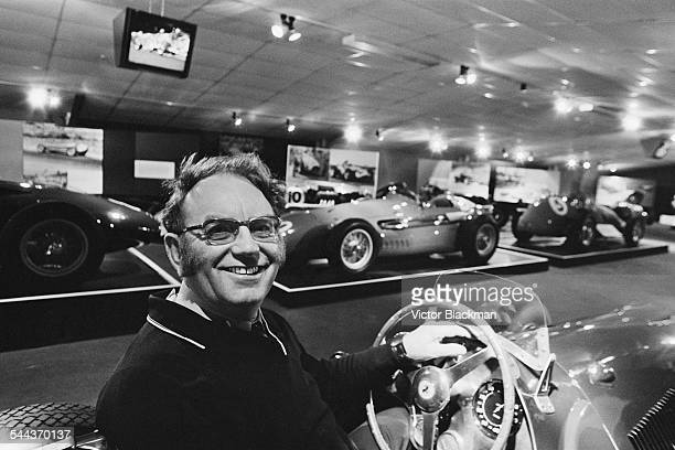 English businessman Tom Wheatcroft at the the Donington Grand Prix Collection museum at the Donington Park racing circuit in Leicestershire 9th...