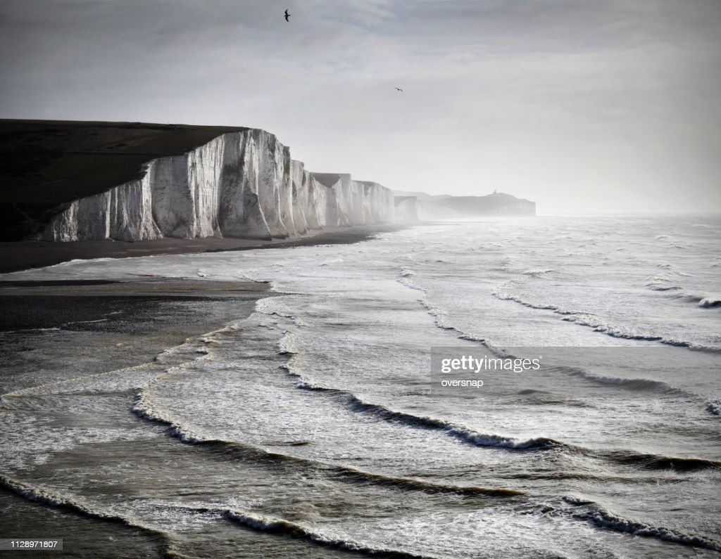English Channel seascape : Stock Photo