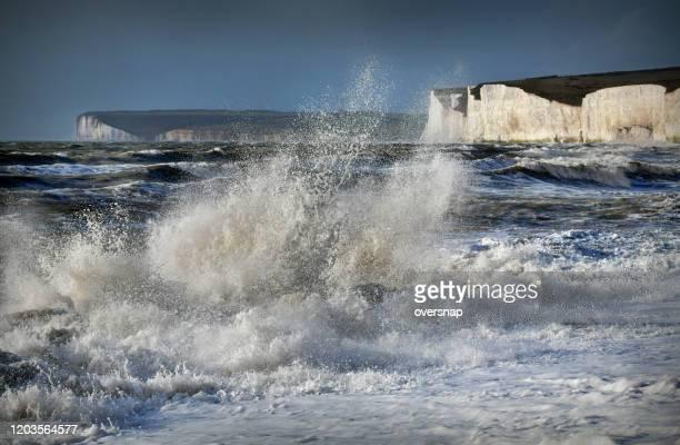 tempesta della manica - canale della manica foto e immagini stock