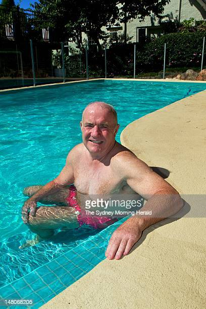English chef Rick Stein at his home on March 20 2012 in Neutral Bay Sydney