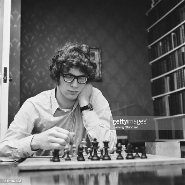 English chess player Jon Speelman, UK, December 1972.