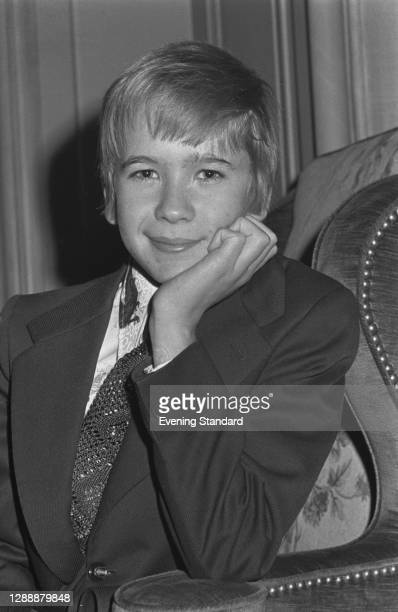 English child actor Roderic Noble, UK, November 1971. He plays Tsarevich Alexei Nikolaevich Romanov in the 1971 film 'Nicholas and Alexandra'.
