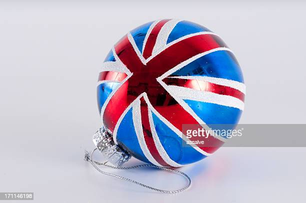english christmas decoration - patriotic christmas stock pictures, royalty-free photos & images