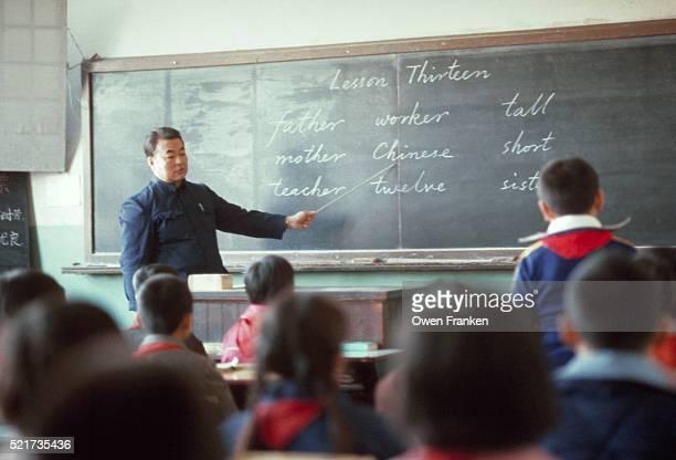 English Class in Beijing Classroom