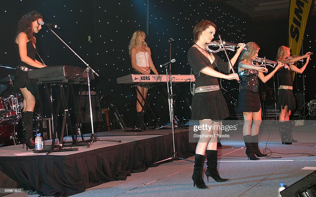 English Classical Pop band 'Wild' performs at the Lexmark Indy 300 Gala Ball presented by Simex Tyres at the Jupiters Casino, October 21, 2005 on the Gold Coast, Australia.