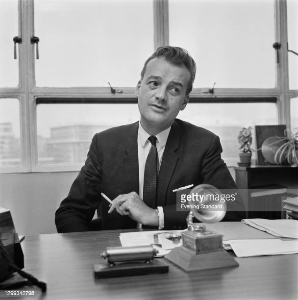 English classical record producer John Culshaw , UK, 22nd October 1966.