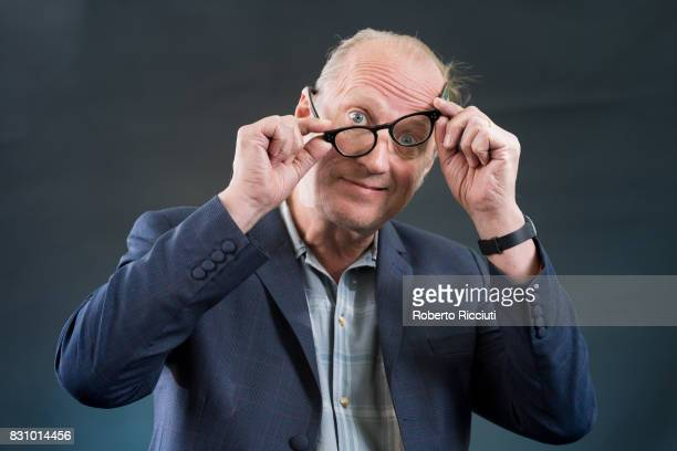 English comedian actor writer musician television presenter and director Ade Edmondson attends a photocall during the annual Edinburgh International...