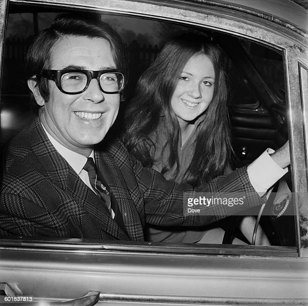 English comedian and game show host Leslie Crowther with his 16yearold daughter Elizabeth UK 1st January 1971 Elizabeth went on to star in a number...