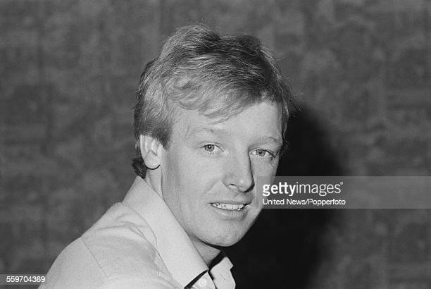English comedian and impressionist Les Dennis who appears with his comedy partner Dustin Gee in the television series 'The Laughter Show' pictured in...