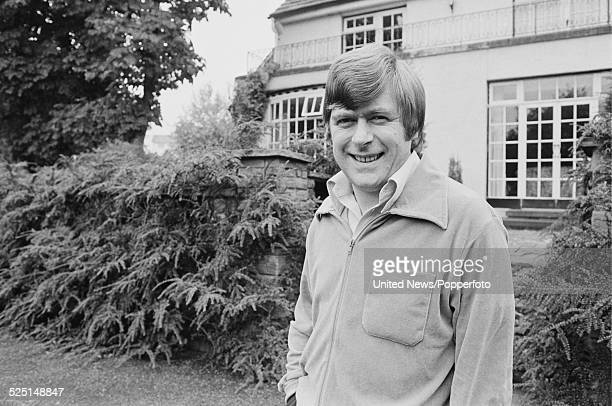 English comedian and impressionist Mike Yarwood pictured at home in Prestbury Cheshire on 12th October 1978
